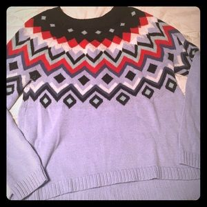 Beautiful Old Navy Fair Isle Sweater!!!